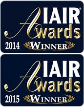 IAIR Awards Gold 2014 & 2015