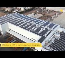 REC installation - Redtag rooftop (Dubai, UAE)