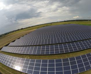 gubin solar power plant