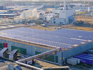 REC Heineken commercial solar installation