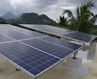 Kumaran IOCL (RO) Solar PV plant