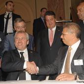 Unterzeichnung Absichtserklärung – Kairo (April 2015)